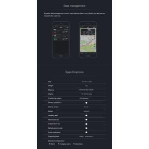 Ceas Smartwatch Twinkler, GPS, Busola, Monitorizare Multisport, Bluetooth6