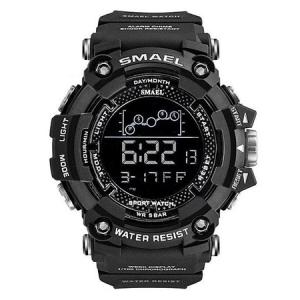 Ceas barbatesc Smael, Shock resistant, Digital, Militar, Sport, Army, Dual Time, Cronograf [0]