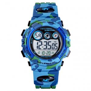 Ceas sport pentru copii, Militar, Camuflaj, Digital3