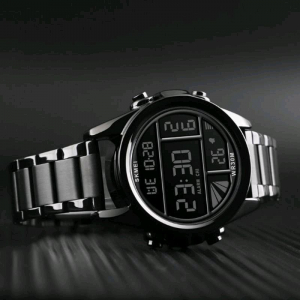 Skmei Ceas barbatesc Fashion Luxury Digital Otel inoxidabil2