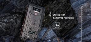 "Telefon mobil, Smartphone Oukitel WP5 Pro, Android 10, 4G, 4GB RAM, 64GB ROM, IPS 5.5"", Helio A25 OctaCore, Waterproof, 8000mAh, Dual SIM7"