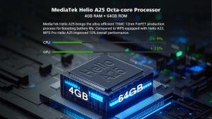 "Telefon mobil, Smartphone Oukitel WP5 Pro, Android 10, 4G, 4GB RAM, 64GB ROM, IPS 5.5"", Helio A25 OctaCore, Waterproof, 8000mAh, Dual SIM16"