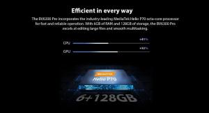 Telefon mobil Blackview BV6300 PRO, Android 10, 4G, Bateria 4380 mAh, Ecran IPS 5.7'', Procesor Helio P70 OctaCore, Dual SIM, RAM 6GB, ROM 128GB, Baterie 4380mAh, 16 Milioane Culori, Giroscop, GPS, Ne10