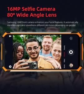 Telefon mobil Doogee S88 Pro, Android 10, Dual SIM, Waterproof, Helio P70 OctaCore, 10000 mAh, 4G, Ecran IPS 6.3'', 128 GB ROM, 6 GB RAM, Negru16