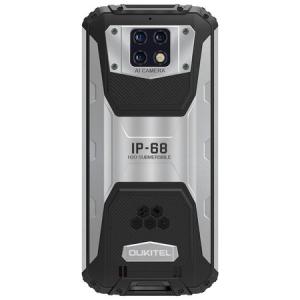 Telefon mobil Oukitel WP6, Face ID, Dual SIM, Baterie 10000mAh, Android Q, Display IPS 6.3 inch, 4 GB RAM, 128 GB ROM, OctaCore, ipx68, Negru argintiu2