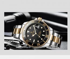 Tevise Ceas mecanic automatic barbatesc Top Brand Fashion Otel inoxidabil3