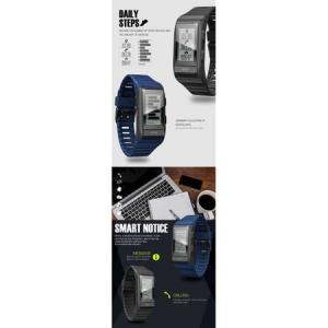 Bratara fitness Twinkler, inteligenta, Agenda telefonica, Anti-lost, Pedometru, Alarma, Cronometru, Monitorizare somn, Puls, GPS, Electrocardiograma5