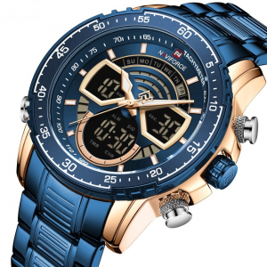 Ceas barbatesc Naviforce Dual time Digital Quartz0
