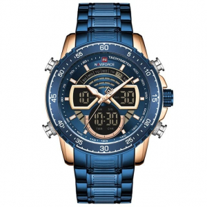 Ceas barbatesc Naviforce Dual time Digital Quartz1