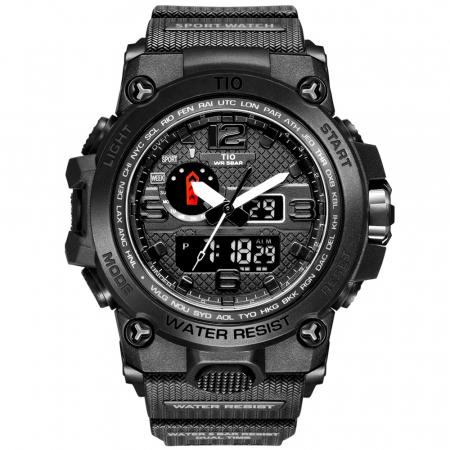 Ceas barbatesc TIO Militar Cronograf Digital Quartz Analog Sport Army Rezistent la socuri si apa [0]