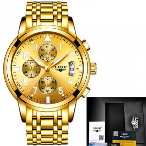 Ceas barbati Lige Luxury Fashion Business Quartz [2]