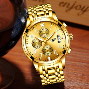 Ceas barbati Lige Luxury Fashion Business Quartz [3]