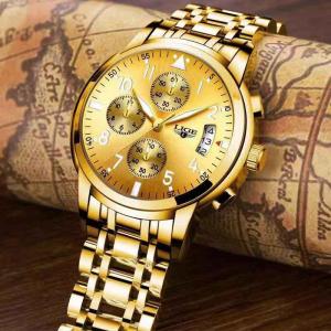 Ceas barbati Lige Luxury Fashion Business Quartz [5]