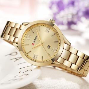 Ceas de dama elegant, Curren, Quartz, Fashion, Quartz, Otel inoxidabil [3]