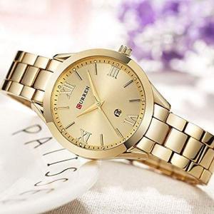 Ceas de dama elegant, Curren, Quartz, Fashion, Quartz, Otel inoxidabil [1]