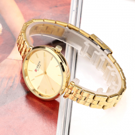 Ceas dama Curren Fashion Casual Quartz Otel1