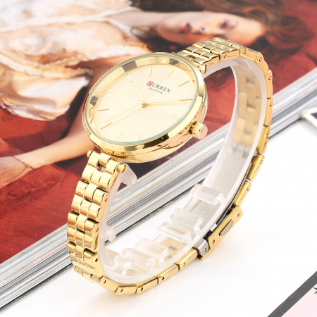 Ceas dama Curren Fashion Casual Quartz Otel3