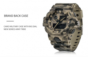 Ceas barbatesc, Smael, Militar, Army, Analog, Digital, Sport, G-Shock2