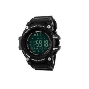 Ceas Smartwatch Barbati, Skmei 1227, Militar, Digital,  Sport, Army, Cronograf, Registru apeluri, Calorii, Pasi, Distanta, Monitorizare Calorii0