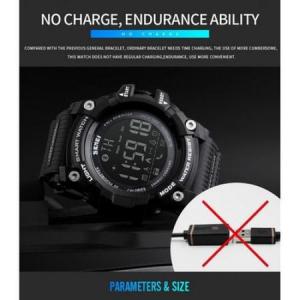 Ceas Smartwatch Barbati, Skmei 1227, Militar, Digital,  Sport, Army, Cronograf, Registru apeluri, Calorii, Pasi, Distanta, Monitorizare Calorii3