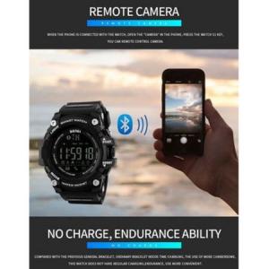 Ceas Smartwatch Barbati, Skmei 1227, Militar, Digital,  Sport, Army, Cronograf, Registru apeluri, Calorii, Pasi, Distanta, Monitorizare Calorii2