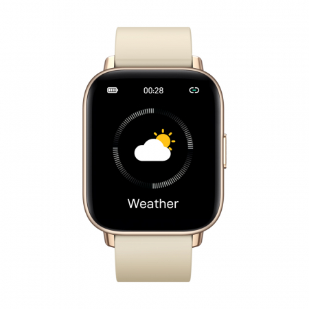 Ceas smartwatch Zeblaze GTS Pro Fitness Tracker Monitorizeaza ritmul cardiac Compatibil AndroidIOS [0]