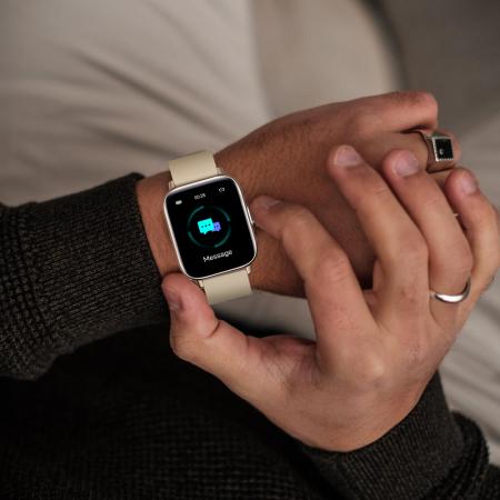 Ceas smartwatch Zeblaze GTS Pro Fitness Tracker Monitorizeaza ritmul cardiac Compatibil AndroidIOS [7]