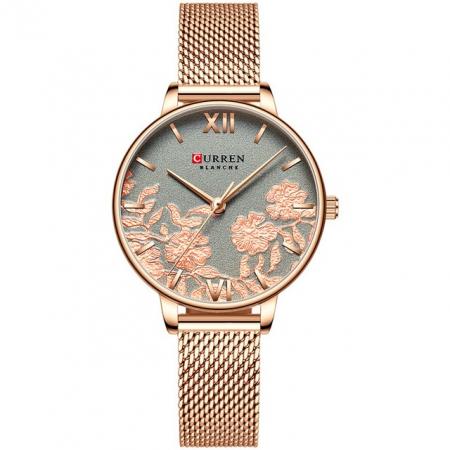 Curren Ceas de mana pentru femei Quartz Casual0