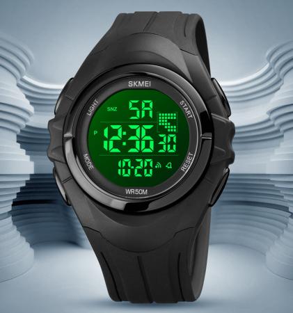 Skmei Ceas barbatesc Sport Digital Cronometru Alarma [4]