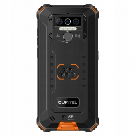 Telefon mobil Oukitel WP5, Smartphone rezistent, Baterie 8000 mAh IPS 5.5inch, 4GB RAM, 32GB ROM, Android 9.0, Orange4