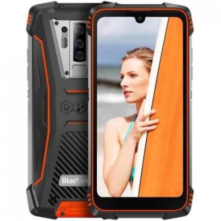 Telefon mobil, smartphone Blackview BV6900, Helio P25 OctaCore, 4G, IPS 5.84inch, 4GB RAM, 64GB RAM, Android 9.0, Waterproof, 5580mAh, Dual SIM0