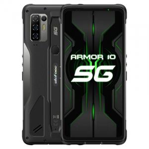 "Telefon mobil Ulefone Armor 10 Negru, 5800 mAH, 5G, Android 10, Dual Sim,  6.67"" FHD+, 8GB RAM, 128GB ROM ROM, Dimensity 800, NFC, IP680"