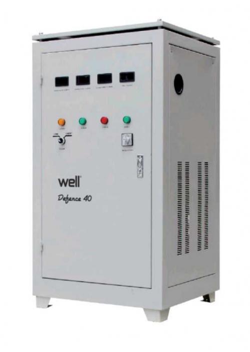 Stabilizator automat de tensiune trifazat 40KVA/ 32KW, Well 0
