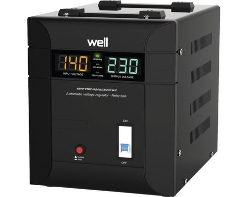 Stabilizator automat de tensiune Agile 5000VA, Well 0