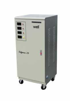 Stabilizator automat de tensiune trifazat 20KVA/ 16KW, Well 0