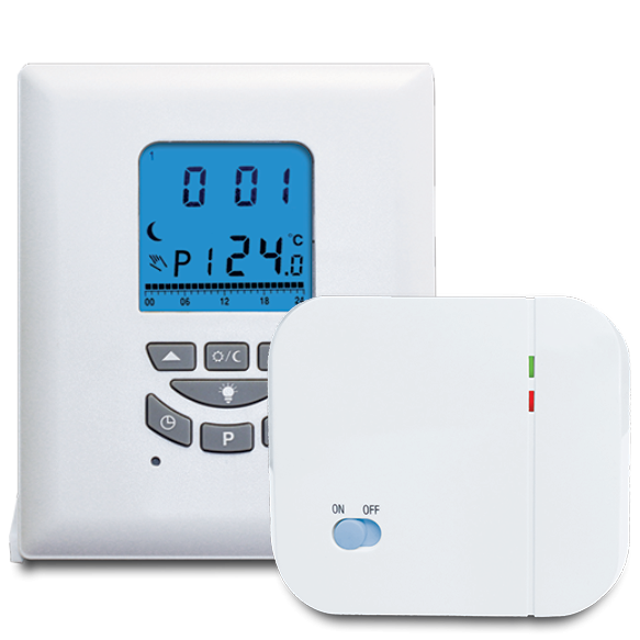Termostat ambiental programabil cu radio comanda, T105RF 0
