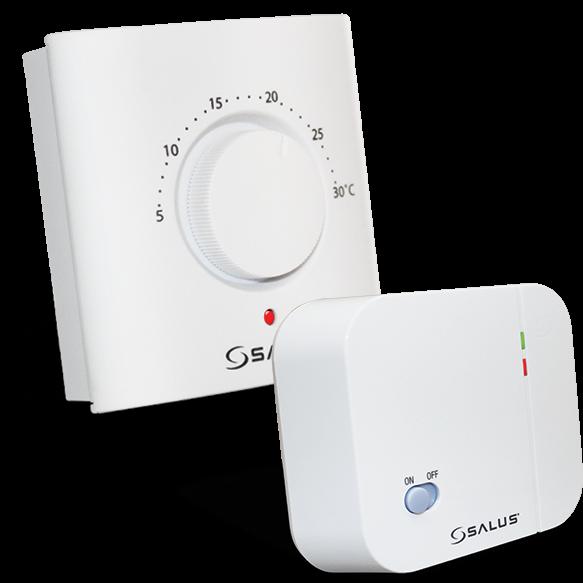 Termostat cu buton rotativ si radio comanda, ERT20RF [0]
