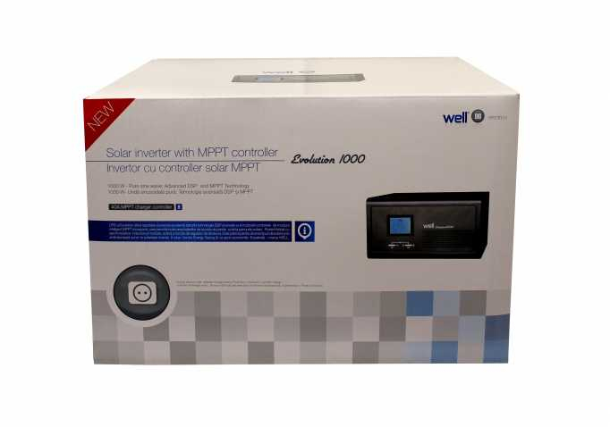 UPS centrale termice cu controler solar Evolution 1000W, Well 1