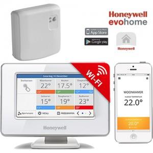 Termostat de ambient smart fara fir Honeywell EvoHome 12 zone0