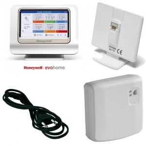 Termostat de ambient smart fara fir Honeywell EvoHome 12 zone1