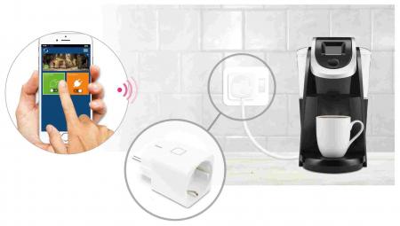 Priză inteligentă cu monitorizare consum de energie SPE6003