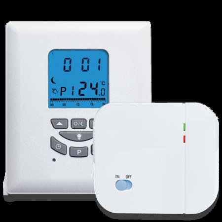 Termostat ambiental programabil cu radio comanda, T105RF [0]