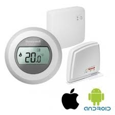 Termostat de ambianta HONEYWELL on/off WiFi, The Round connected Y87 RFC3