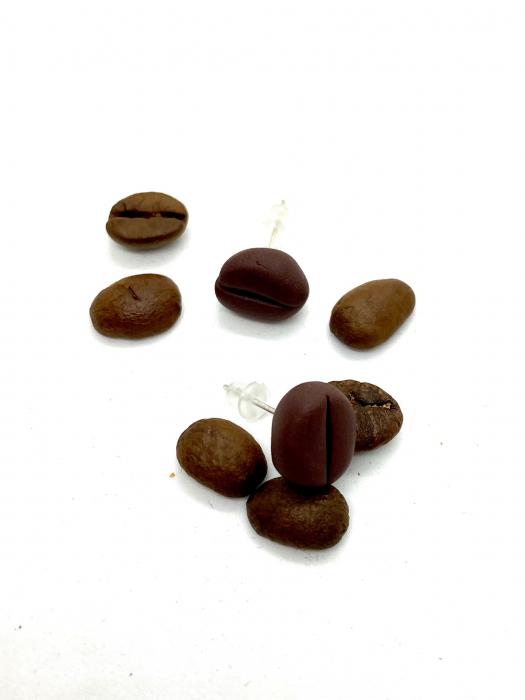 Cercei boabe de cafea cercercei 3
