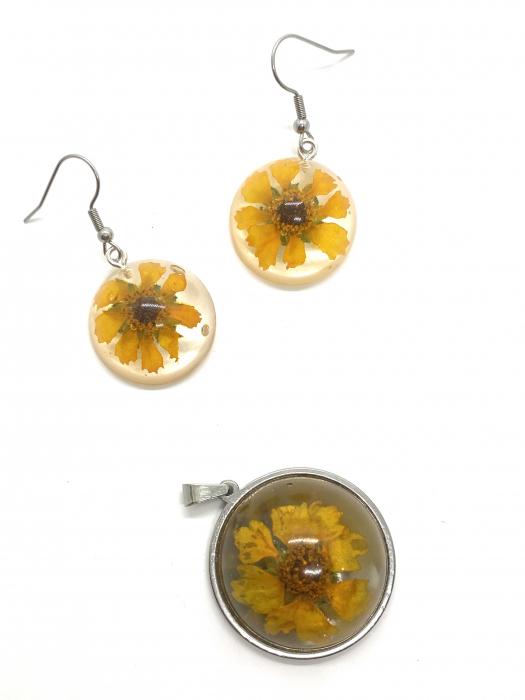 Set de bijuterii cu flori [0]