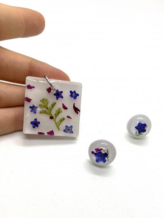 Set bijuterii cu mirute - Set bijuterii handmade 0