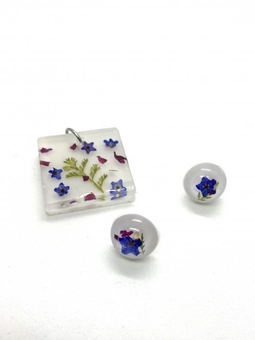 Set bijuterii cu mirute - Set bijuterii handmade 1