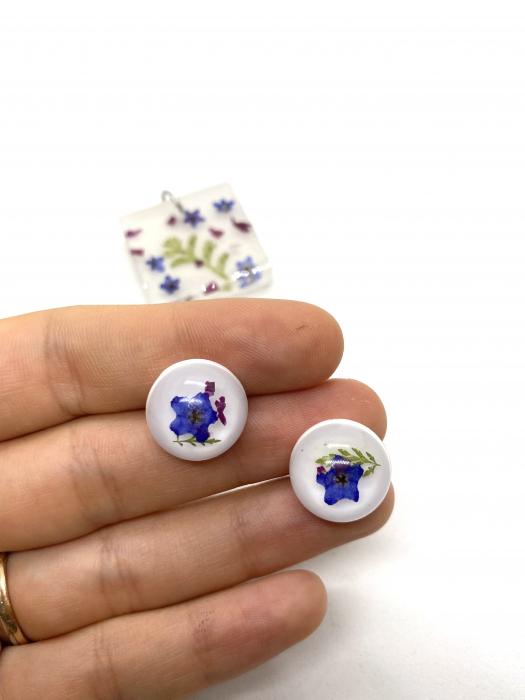 Set bijuterii cu mirute - Set bijuterii handmade 4
