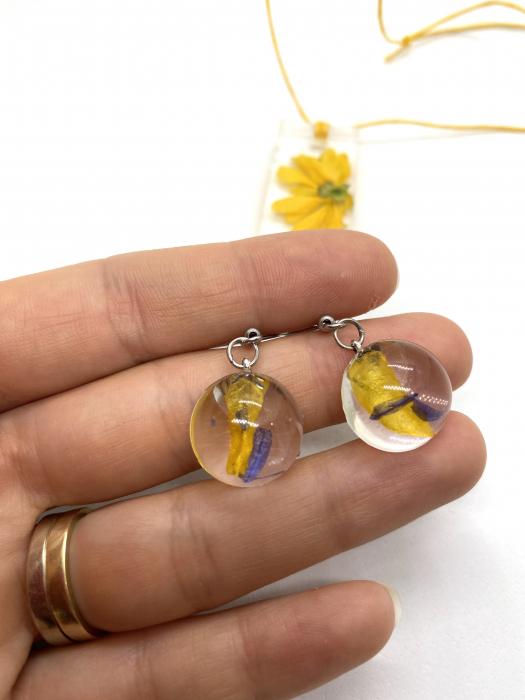 Set de bijuterii handmade cercercei 5