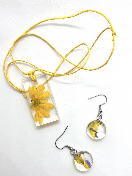 Set de bijuterii handmade cercercei 1